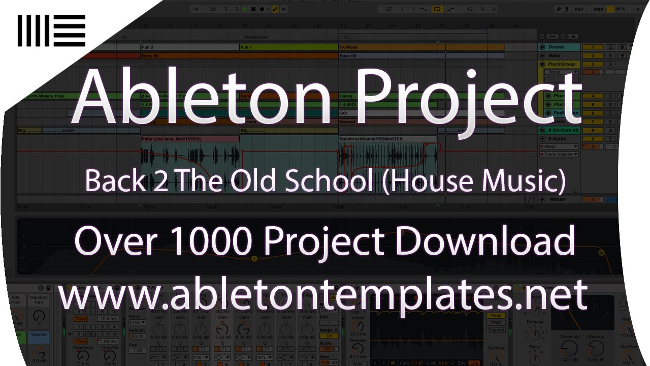 ABLETON LIVE TEMPLATE ( BACK 2 OLD SCHOOL) - YouTube