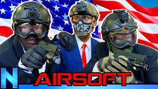AIRSOFT Protect The President - ft. Jet Desert Fox