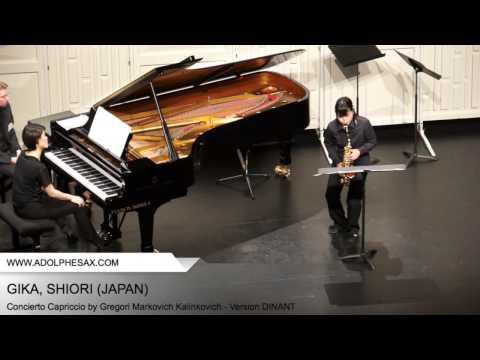 Dinant 2014 - Gika, Shiori - Concerto Capriccio by Gregori Markovich Kalinkovich
