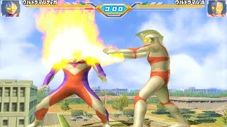 Sieu Nhan Game Play   Trận đấu Ultraman theo yêu cầu 30 12 #2   Game Ultraman figting eluvation 3