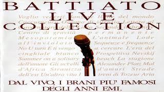 Battiato  live collection