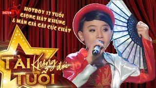 Hotboy 13 tuổi giọng hát khủng với màn giả gái cực chất