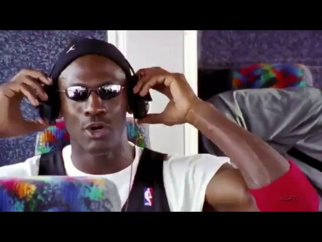 NBA/到底他在聽什麼?《最後之舞》喬丹惡搞影片爆紅