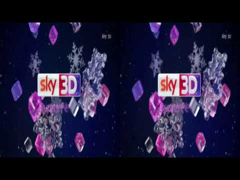Sky 3D Italy - Christmas Ident/Advert/Continuity 2015 [King Of TV Sat] King Of TV Sat