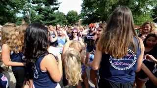 2014 PSU Sorority Bid Day - Pittsburg State University