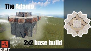The Adamo 5-6 man 2x2 base design (Floor stacked!)