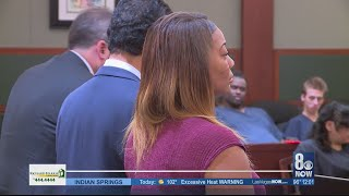Woman accused of pushing man off bus will remain on house arrest