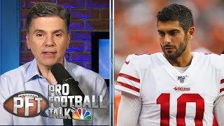 Is Jimmy Garoppolo's ugly preseason debut concerning?   Pro Football Talk   NBC Sports