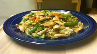 Chinese Chicken Stir Fry with Michael's Home Cooking