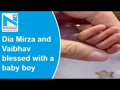 Dia Mirza and Vaibhav blessed with baby boy Avyaan Azaad Rekhi