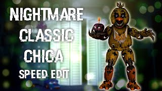 Speed Edit- Fixed Nightmare Chica (FNAF) Videos - mp3toke