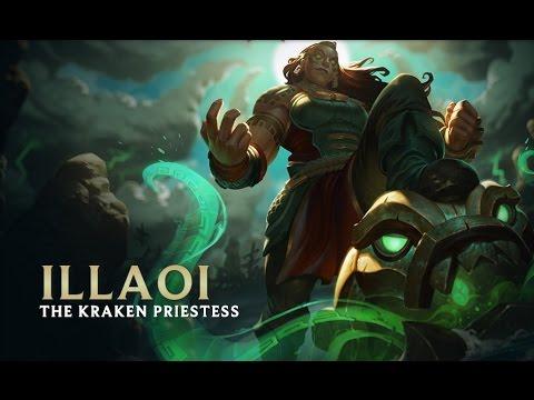 illaoi the kraken priestess champion preview league of legends