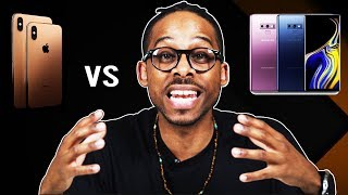 iPhone XS Max vs Galaxy Note 9 pt.1 Note 9 is cheaper but is it better?
