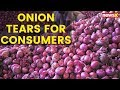 Onion Tears for Consumers; Prices in India Crosses Rs 100 Mark/ Kg | NewsX