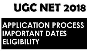 CBSE UGC NET 2018 Application Process - How to Apply ? Step by Step Instructions