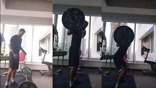 Watch: Virat Kohli shows off his extreme weightlifting ski..