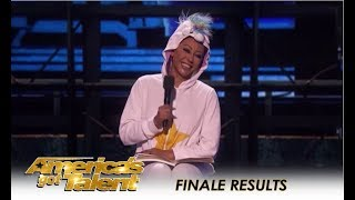 Mel B Tries STAND-UP Comedy For The First Time - How's She? | America's Got Talent 2018