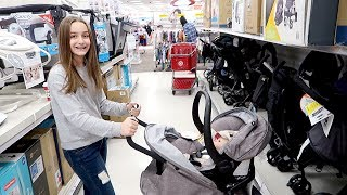 Shopping for Reborn Baby Stroller and Car Seat with My Reborns