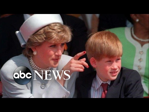 Prince Harry opens up about needing therapy after the death of his mother, Princess Diana