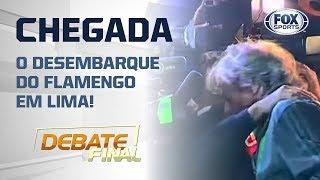 FLAMENGO NO PERU! Veja a chegada do elenco rubro-negro em Lima!