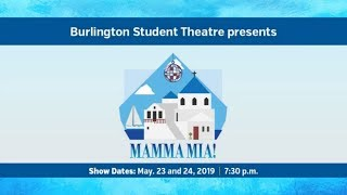 Mamma Mia Burlington Student Theatre Mainstage 2019