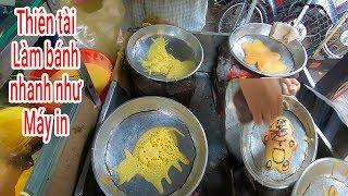 Thiên tài làm Bánh hình con vật nhanh như Máy in ở đường phố Sài Gòn