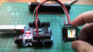 Tech Note 046 - ESP32 How to connect SSD1331 Colour OLED