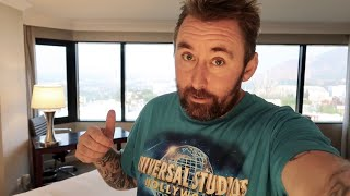 Hilton Executive Hotel Room at Universal Studios Hollywood - Best Theme Park View / Staycation Day 7