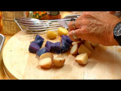WaGrown International Exports S2E12: Delicata Squash w/ red, white, blue potatoes