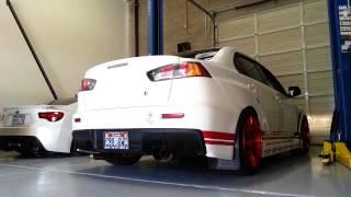 Evo X Tomei Turbo Back Exhaust Sound