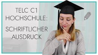 telc Deutsch C1 Hochschule | Schriftlicher Ausdruck