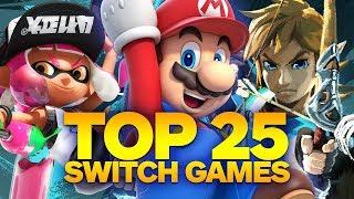Top 25 Nintendo Switch Games (Fall 2017)
