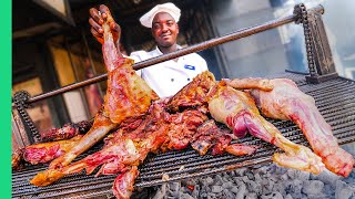 Kenyan MEAT TOUR in Nairobi!!! BOILED COW HEAD & Nyama Choma!!!