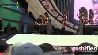 Clip: Tae Yeon bị bắt cóc khỏi sân khấu