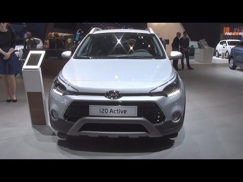Hyundai i20 Active 1.0 T-GDi Vertex (2016) Exterior and Interior in 3D