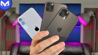 CUAL COMPRAR iPhone 11 vs iPhone 11 Pro vs iPhone 11 Pro Max