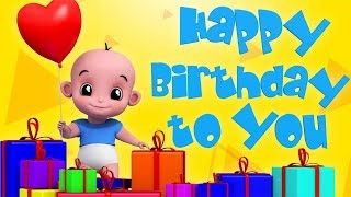 Happy Birthday Song | Dance Song | Nursery Rhymes Songs For Children | Party Song By Junior Squad