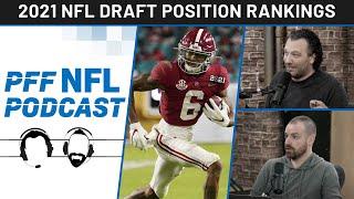 PFF NFL Podcast: NFL Draft Position Rankings   PFF