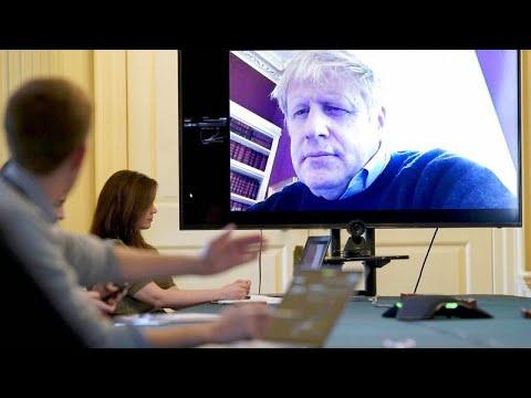 Expectación en el Reino Unido ante la hospitalización de Boris Johnson