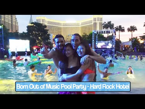 Born Out of Music Pool Party at the Hard Rock Hotel