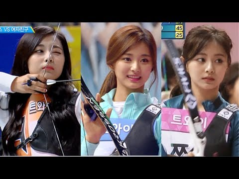 《TWICE》 Tzuyu 쯔위 양궁 모음 Archery Collection (2016~2018)