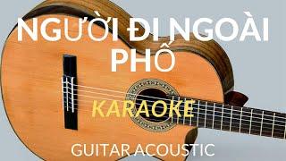[KARAOKE] Người Đi Ngoài Phố Beat Guitar - Acoustic -Karaoke Quang Nguyên