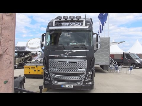 Volvo FH16 750 Tractor Truck (2016) Exterior and Interior in 3D
