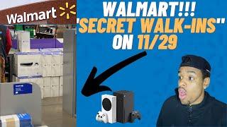 """WALMART PS5 XBOX """"SECRECT WALK-INS"""""""