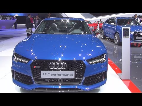 Audi RS 7 Sportback Performance 4.0 TFSI Tiptronic Quattro 445 kW (2016) Exterior and Interior in 3D