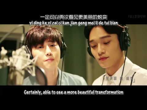 Chen & Suho (EXO) - Beautiful Accident (MV) + [English subs/Hanyu Pinyin/Chinese]
