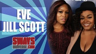"""Eve & Jill Scott Give Honest Thoughts on Iggy Azalea and her """"Blaccent,"""" New Film + Jill Sings Live"""