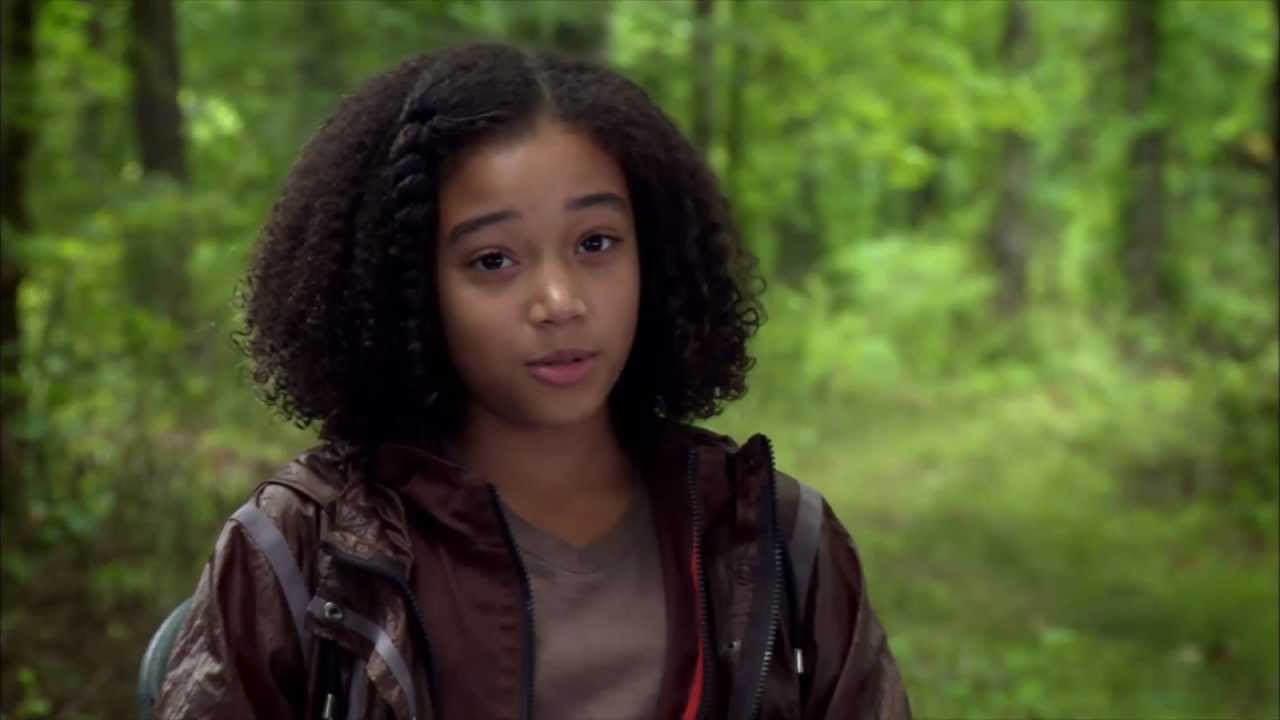 Amandla Stenberg - The Hunger Games Interview - YouTube