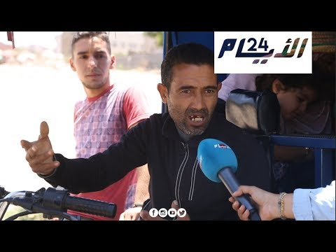 سائق تربورتور يروي معاناته.. كبرنا ولقينا الشارع