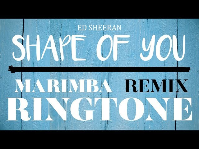 shape of you mp3 ringtone download for android